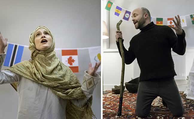 Christian-Muslim Storytelling:  Stories of shared faith from history presented by Khayaal Theatre